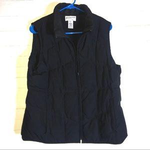 Pendleton Ladies Black Down Puffer Vest